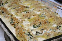 Tuna & Spinach Shells
