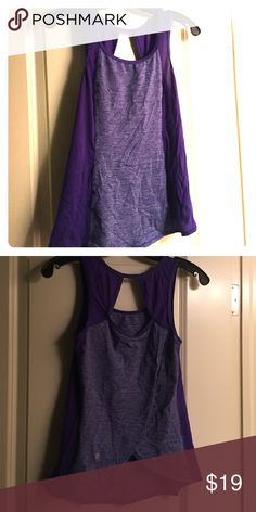 Lululemon flyaway back tank Size 4 Adorable flyaway back lululemon tank. Very gently used. Warn and washed just 4-5 times. lululemon athletica Tops Tank Tops