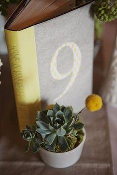 Trendy, Yellow & Grey, Barn Wedding - Reception,  Decor,  Table