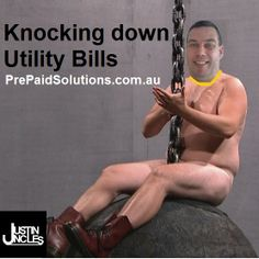Justin Uncles at Pre Paid Solutions using a Miley Cyrus Wrecking Ball to Knock Down Utility Bills Pop Culture News, Pre Paid, Workout Regimen, Saturday Night Live, American Idol, Reality Tv, Miley Cyrus, Laugh Out Loud