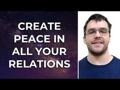 In this episode you'll learn how to harness a powerful universal law that can eliminate ALL possibility of conflicts or arguments in your personal relationsh. Smile And Wave, Just Smile, Personal Relationship, Thing 1 Thing 2, Mindfulness, Success, Peace, Youtube, Meditation