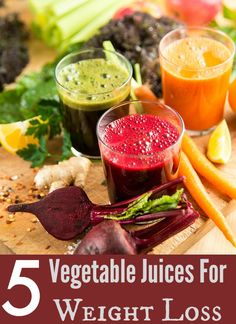 5 Vegetable Juices For Weight Loss