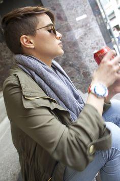 hair androgynous lesbian dyke haircuts pixie hair short