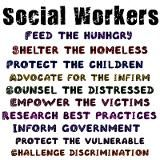 I would privatize social workers so that they could be more effective. If that's even possible.