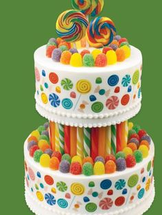Candyland Cake | Parties | Pinterest