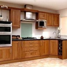 Modern Kitchen Cabinets Design Is Very Important In-Home. Glass Kitchen Cabinets, Kitchen Cabinet Design, Interior Design Kitchen, Residential Interior Design, Home Interior, Interior Ideas, Beautiful Kitchens, Cool Kitchens, Kerala