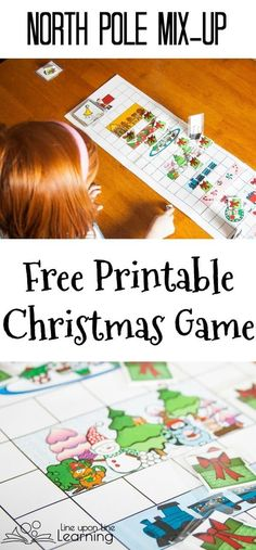 This free printable Christmas game will have you helping Santa figure out which wrapped present is which in his a North Pole Mix-Up!