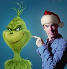 Benedict Cumberbatch voices The Grinch in the new Dr. Seuss' How the Grinch Stole Christmas. 11.10.17.!!!
