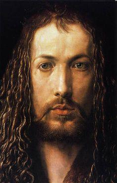 Pictures by Albrecht Durer | Self portrait' (1500) by Albrecht Dürer; Alte Pinakothek, Munich