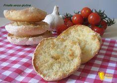Friselle senza glutine (ricetta con LM). Ricetta passo passo delle friselle pugliesi senza glutine fatte in casa, per panzanella crostini e antipasti estivi