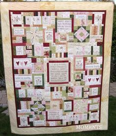 The Journey of a Quilter - pattern by Leanne Beasley. Make it into a picture quilt instead