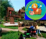 Bokkieparadys Party Venue - Haartbeespoort has a fantastic playground with animal farmyard to keep the children entertained. Enjoy a Tractor Ride through the farmyard, let the children pet the baby cow or watch them from the covered lapa area while they play in the sandpit, on the jungle gym, run around the expansive lawn or ride on the bike track with mini tractors. What ever the fancy your children will sure to love this spot.