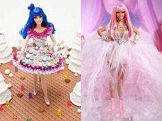 Katy Perry and Nicki Minaj Barbie Dolls