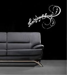 Wall Decal Musician's Music Notes Song Musical Arts by whimsydecal, $24.00