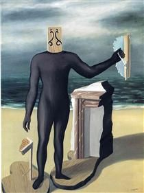 The man of the sea - Rene Magritte
