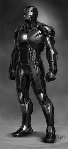 Ironman black, Pierre Bertin on ArtStation at https://www.artstation.com/artwork/lLePJ