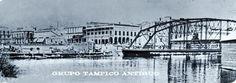 Vista de la ciudad, destaca el Puente Romero Rubio sobre el Rio Tamesí