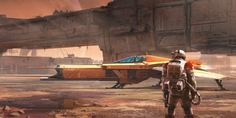 Scifi Concept Art: 'Mars Heavy' by Isaac Hannaford ∞ Infinispace