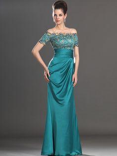 Sheath/Column+Off-the-shoulder+Beading+Evening+Dresses+#GZ189  http://www.victoriasdress.com/2014-style-sheath-column-off-the-shoulder-beading-mother-of-the-bride-dresses-gz189.html