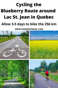 Cycling the Blueberry Route over 3-5 days around Lac St. Jean in Quebec Lac Saint Jean, Canadian Travel, Bike Path, Back Road, Day Hike, Winter Travel, Quebec, The Great Outdoors, Travel Inspiration