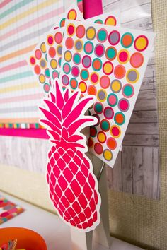Tropical Punch Classroom Decorations