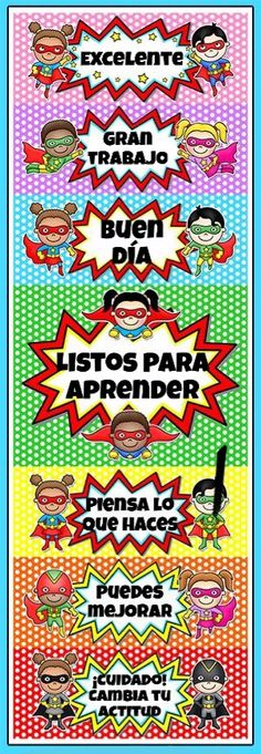 "This superhero kids theme behavior clip chart will look fantastic in your classroom! Encourage your students to have ""SUPER"" behavior and climb to the top of the chart! By Pink Cat Studio (souffle) 2nd Grade Classroom, Classroom Behavior, Kindergarten Classroom, Classroom Themes, School Classroom, Superhero School Theme, Superhero Kids, School Themes, Behavior Clip Charts"