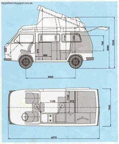 Image result for vw t3 camper dimensions