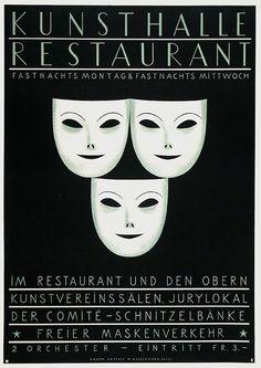 Stoecklin Niklaus Kunsthalle Restaurant Jahr: 1943