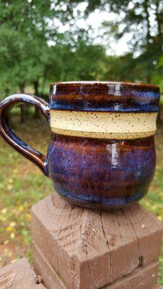 Coffee Mug from sheasclay Clay Coffee cocoa Art Pottery christmas mug gift handmade