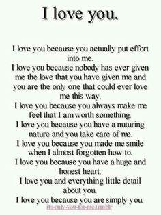 i really like u poems