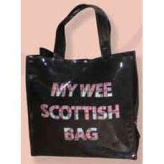 My Wee Scottish PVC Shopping Bag