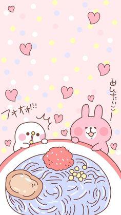 Rabbit Wallpaper, Sanrio Wallpaper, Soft Wallpaper, Kawaii Wallpaper, Wallpaper Backgrounds, Iphone Wallpaper, Kawaii Art, Kawaii Anime, Really Cute Puppies
