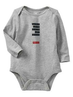Paddington Bear™ for babyGap type graphic bodysuit - A limited edition Paddington Bear™ collection for your newest little additions. Adventure awaits!
