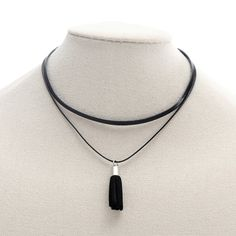 Find More Choker Necklaces Information about Women Fashion Short Choker Necklace Multilayer Black Leather Faux Tassel Pendant Necklace,High Quality choker fashion necklaces,China choker necklace Suppliers, Cheap necklace multilayer from Winslet&Jean on Aliexpress.com