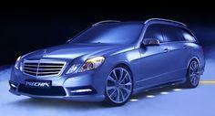 Piecha hält Mercedes E-Klasse W212 sah frisch mit Aero-Kit