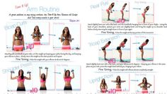 Fine Toning Arms Routine from Tone It Up!