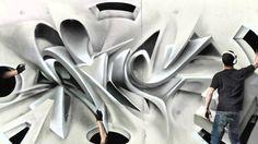 Image result for 3d graffiti art