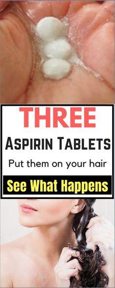 AN AMAZING MAGIC HAIR GROWTH BASED ON ASPIRIN Aspirin For Hair, Shampoo For Curly Hair, Baking Soda Dry Shampoo, Baking Soda For Hair, Healthy Beauty, Healthy Hair, Healthy Tips, Healthy Options, Stay Healthy