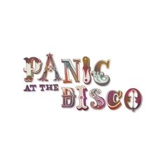 Panic! at the disco logo ❤ liked on Polyvore