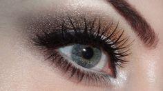 bronzey makeup look