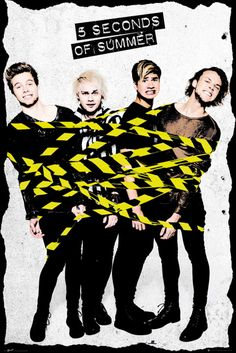 5 Seconds of Summer - Tape - Official Poster
