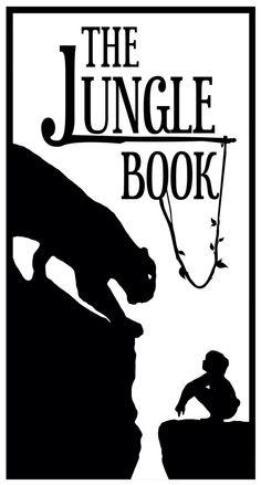 Il libro della giungla Vettoriale B/N