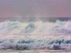 Beach-wallpapers-Beach Waves Crashing-wallpaper