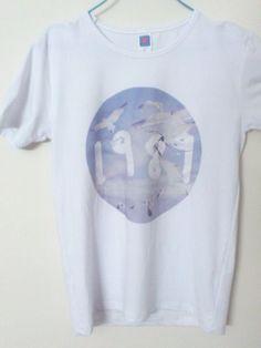 Taylor Swift 1989 Shake It Off White Seagull Circle T Shirt Tee | eBay