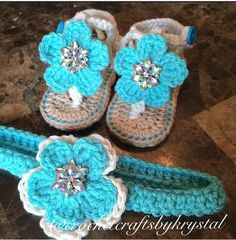#crochet #baby #sandals handmade by me! Visit my Instagram page