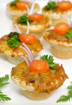Baby shower food ideas: Finger foods, sandwiches and desserts
