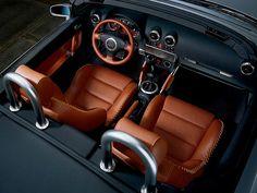 Audi tt baseball interior