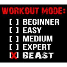 Workout Mode