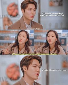 Korean Drama Funny, Korean Drama Quotes, Lee Min Ho Dramas, My Sassy Girl, Gu Family Books, Lee Min Ho Photos, Good Comebacks, Kdrama Memes, Kim Go Eun
