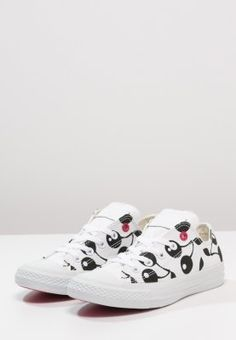 c78c363f3f999 Converse CHUCK TAYLOR ALL STAR OX - Baskets basses - white black -  ZALANDO.FR